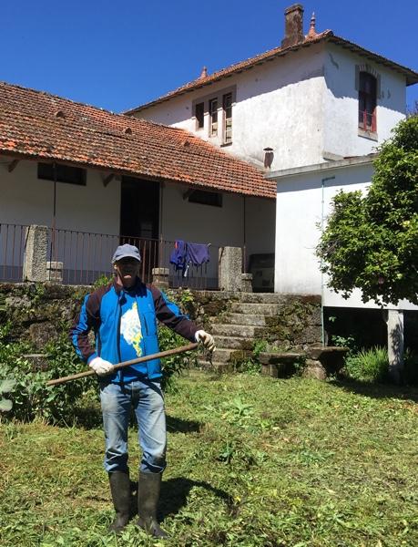 voluntary gardener