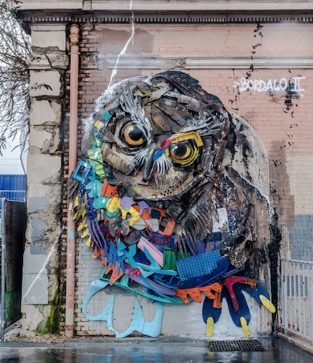 from trash to art: Bordalo II